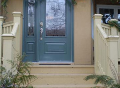 Front entry porch addition