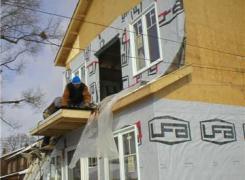 Balcony Addition In progress