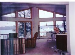 Interior View to Lake Finishing Stage