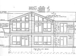 New Cottage Elevation Drawing