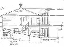 New Cottage Side Elevation