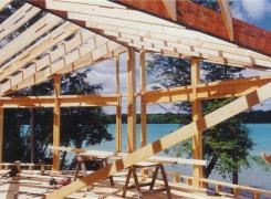 New Cottage Framing stage