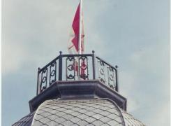 New Shingles, Restored Railing & Flagpole