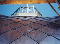 Shingle and Railing Detail