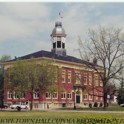 Port Hope Town Hall - Cupola Restoration Project