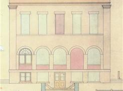 Historic Archive Elevation Drawing