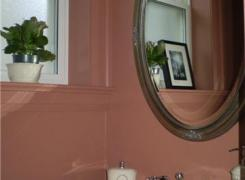 New powder room