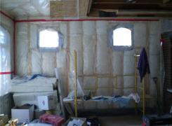 New addition insulation stage