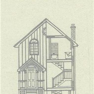 Home Inspection Brochure - Ink Drawing