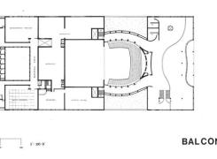Balcony 2 Level Floor Plan