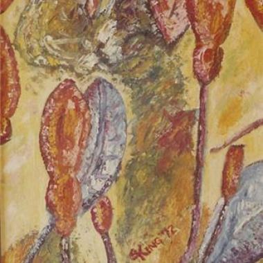 Fuschia - Acrylic Painting