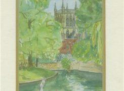 Cambridge - Watercolour