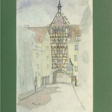 Stein em Rhein - Watercolour