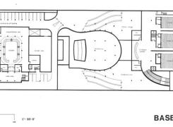 Basement Floor Plan (Studio Theatre and Cinemas)