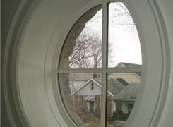 Circular front window