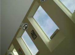 Third floor skylights