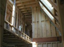 Interior Atrium space framing
