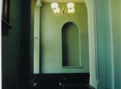 New heritage archways and lighting for new elevator lobby