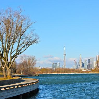 Toronto Skyline from Ashbridges Bay