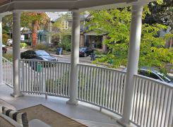 New CurvedFront Porch