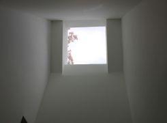Second floor hall skylight