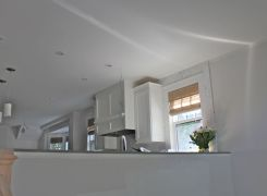 Kitchen from sunroom area
